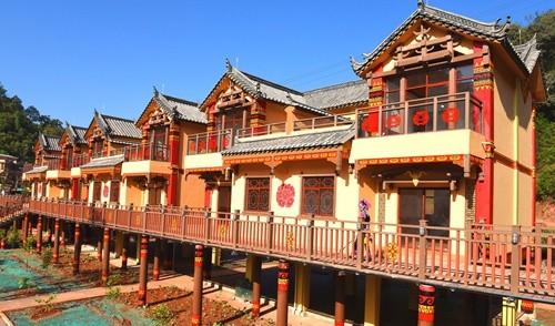 南华县塑木小镇建设提升美丽乡村形象