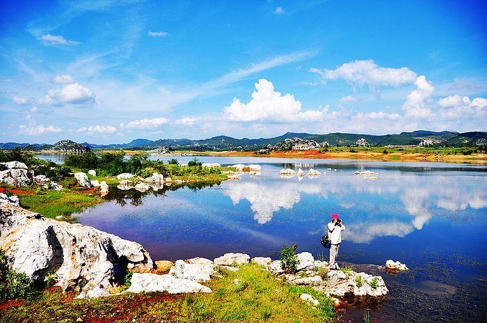 到曲靖罗平九龙瀑布群,多依河风景区,师宗凤凰谷风景区,菌子山风景区